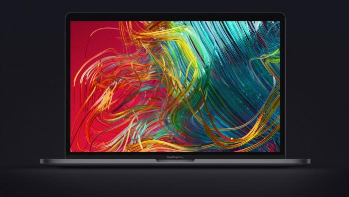 苹果发布新款八核心MacBook Pro 改良蝶式键盘
