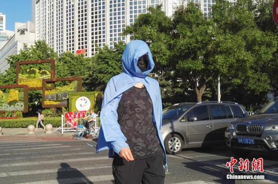 华北黄淮等地将有高温天气 华南仍有分散性强降水