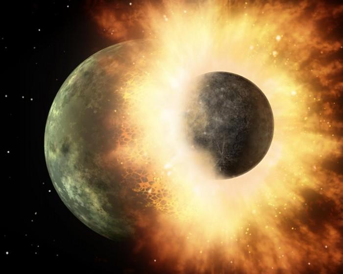 科學研究揭示巨大撞擊造成月球正反麵截然不同