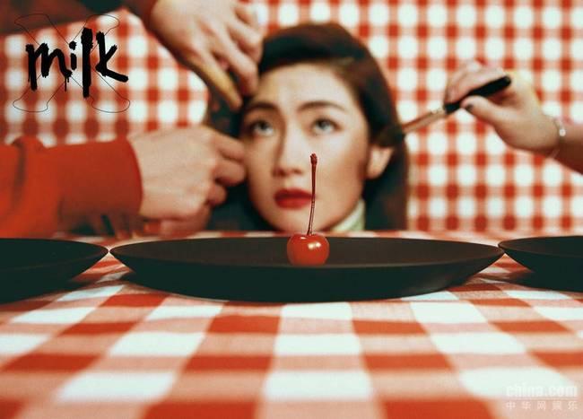 Selina大片曝光 《MILK X》专访诉说女性态度