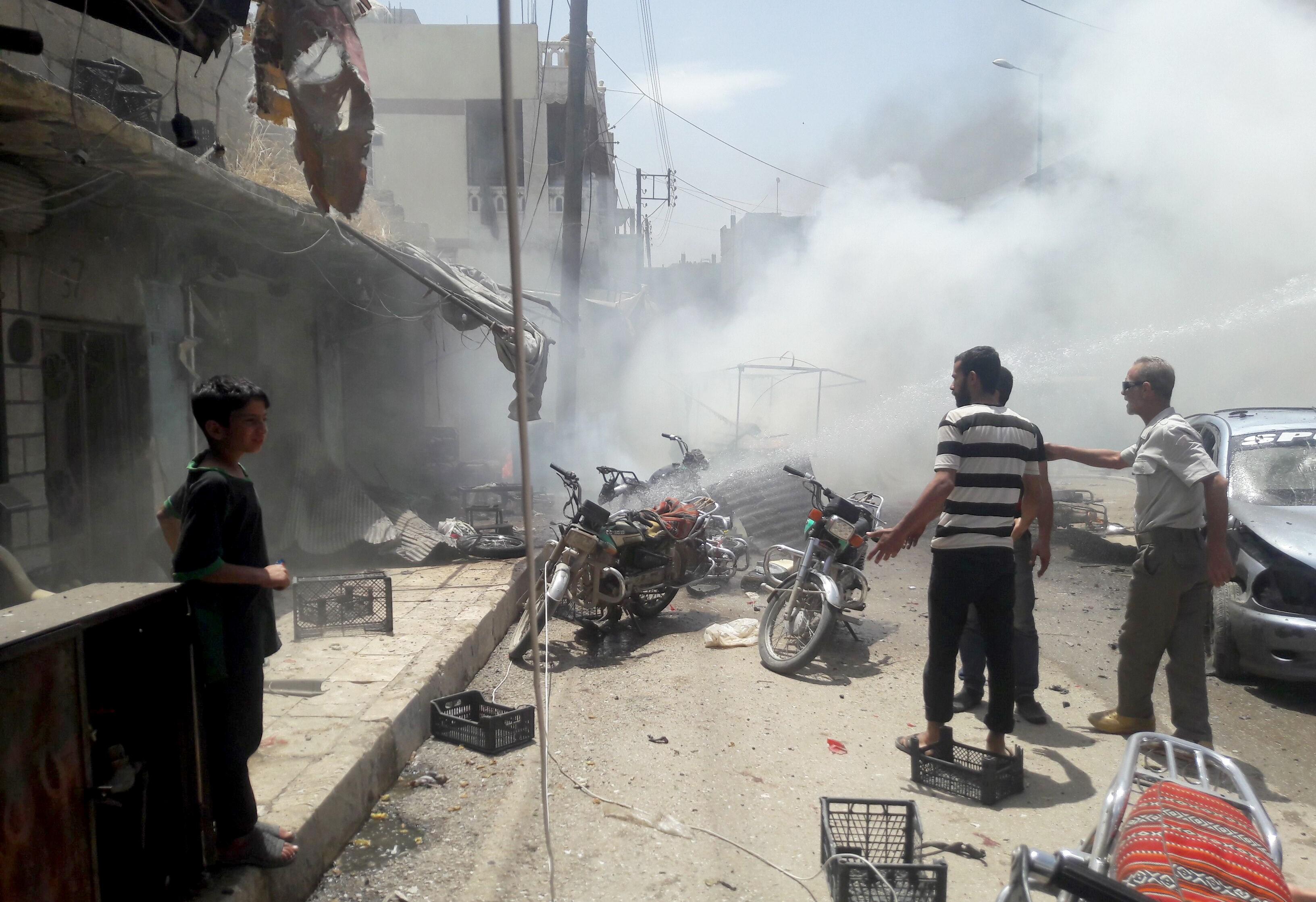 叙利亚阿勒颇产生爆炸 至少7人受伤