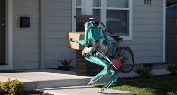 自动送货机器人Digit配备激光雷达 可上下楼梯
