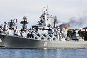 俄舰队庆祝成立288周年