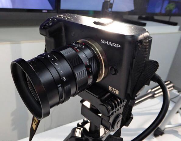 夏普将推出廉价8K摄像机 价格降至1/10以下