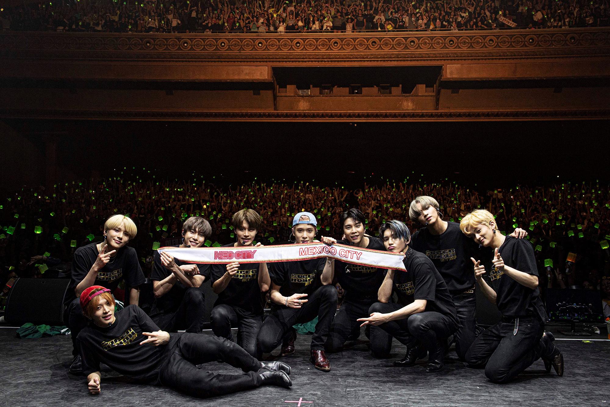 NCT 127北美之后使南美沸腾!墨西哥演唱会门票全席售罄
