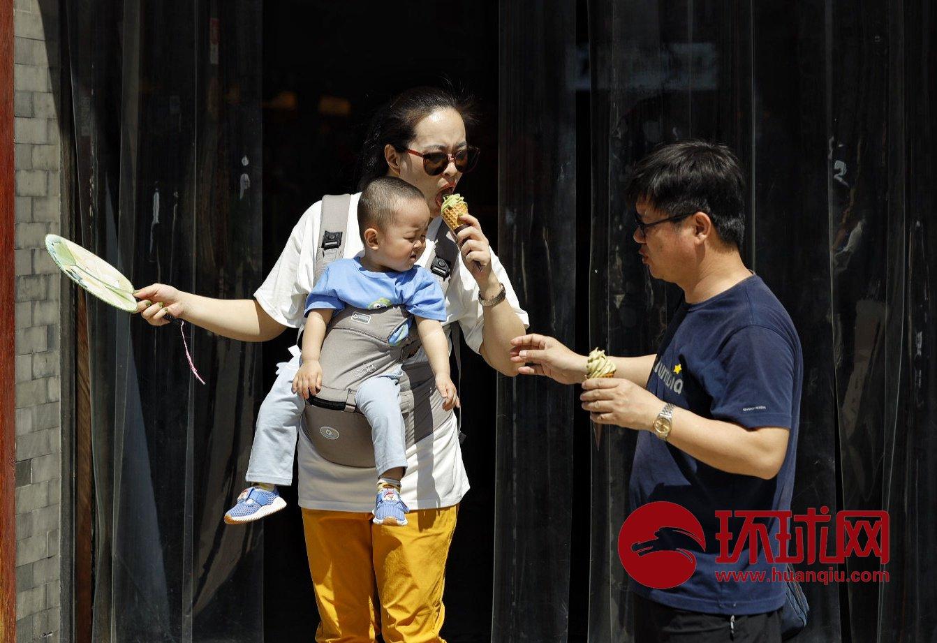 北京迎来2019年首个高温日 最高气温已达35度