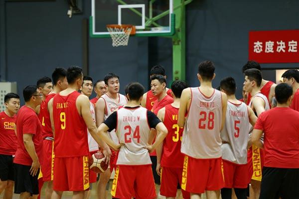 2019篮球世界杯倒计时100天,中国男篮全力备战!