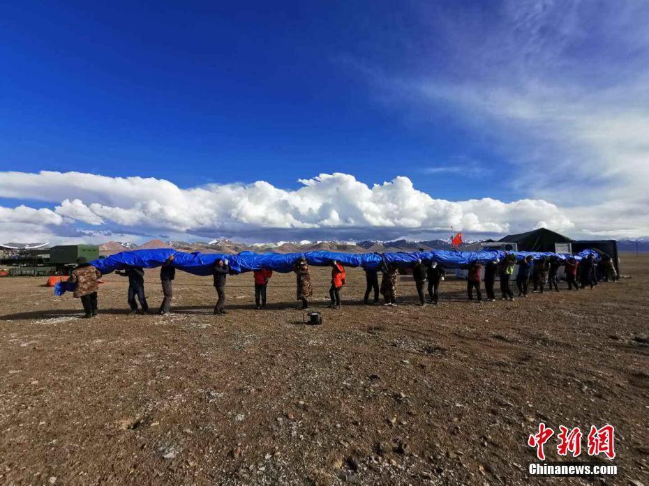 中科院空天院浮空器创造海拔7003米高空探测世界纪录
