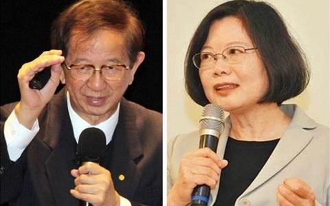"""台湾前""""中研院长"""":蔡英文把减空污推下一代"""