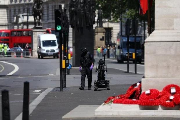 """伦敦白厅因""""安全事件""""关闭 警方:将很快重新开放"""