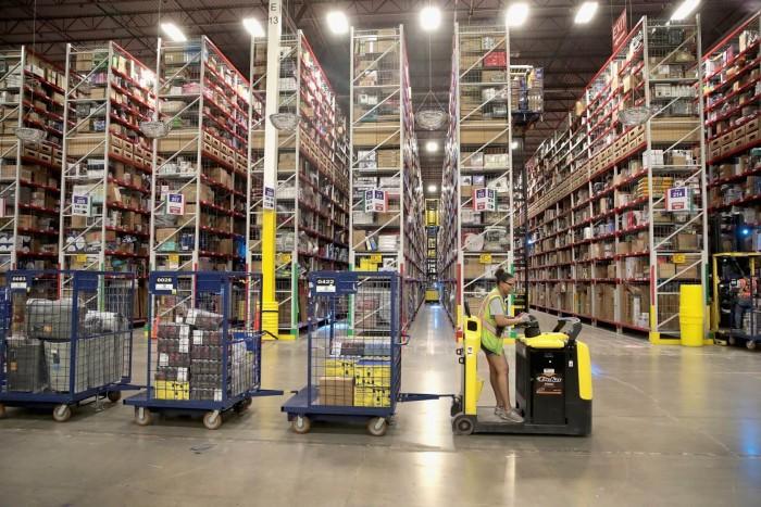 亚马逊希望通过游戏改变仓库中繁琐的工作