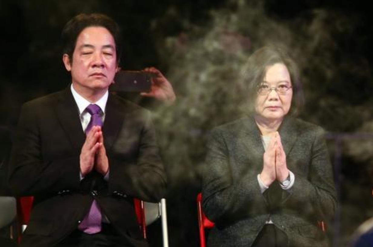 赖清德去民进党中央致直播中断 吴子嘉:恶人没胆