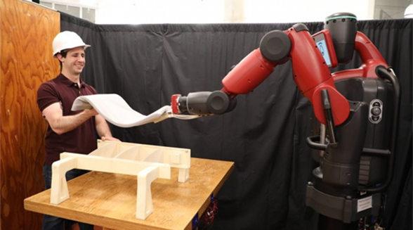 MIT打造新型机械臂 几乎能实时模仿人类动作