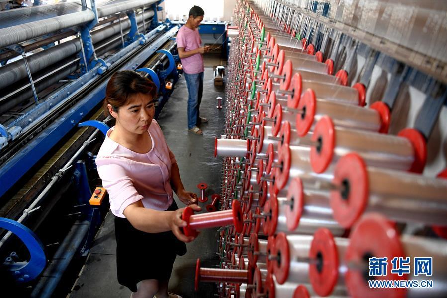 小渔网编织大产业