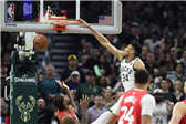 NBA东部决赛G5:雄鹿99-105猛龙