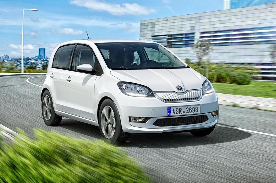 斯柯达发布首款纯电动车Citigo e iV 续航265公里
