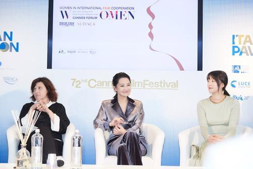 许晴出席中欧女性影展论坛:男性与女性并不对立