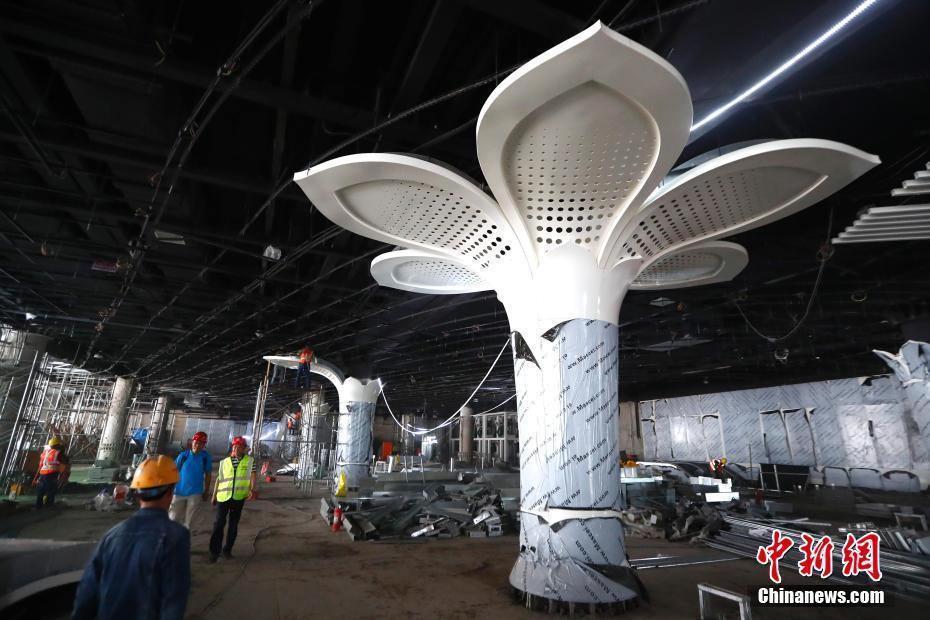 北京轨道交通新机场线一期工程实现全线长轨通