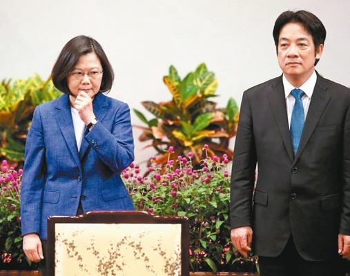"""赖清德:2020初选必须民主 否则""""1+1""""是天方夜谭"""