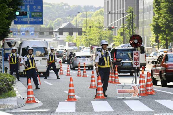 日本高度戒备迎接特朗普到访