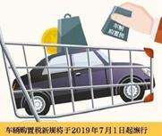 买车将按实付价缴购置税