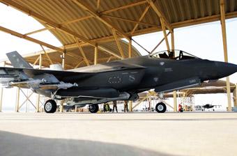 吓唬伊朗?驻中东美军F-35A亮出最强战斗姿态