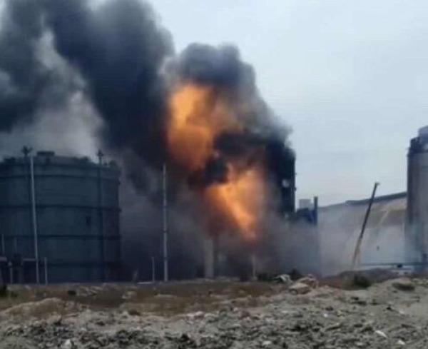 唐山曹妃甸一煤公司发生火灾,已造成2人死亡6人受伤