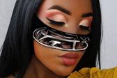 化妆师以脸当画布创作逼真视错觉画像