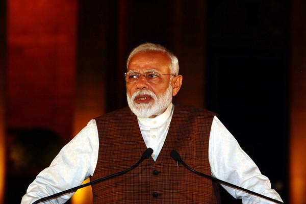 印度总统任命莫迪为新总理 莫迪发表讲话