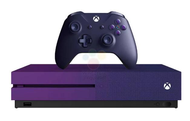 紫色版Xbox One S泄露 为《堡垒之夜》定制
