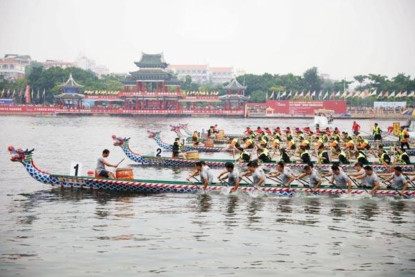 2019海峡两岸(集美)龙舟文化节启幕