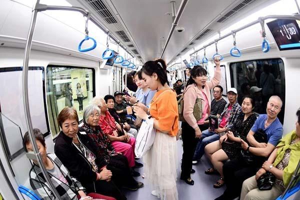 沈阳地铁九号线一期工程开通试运营