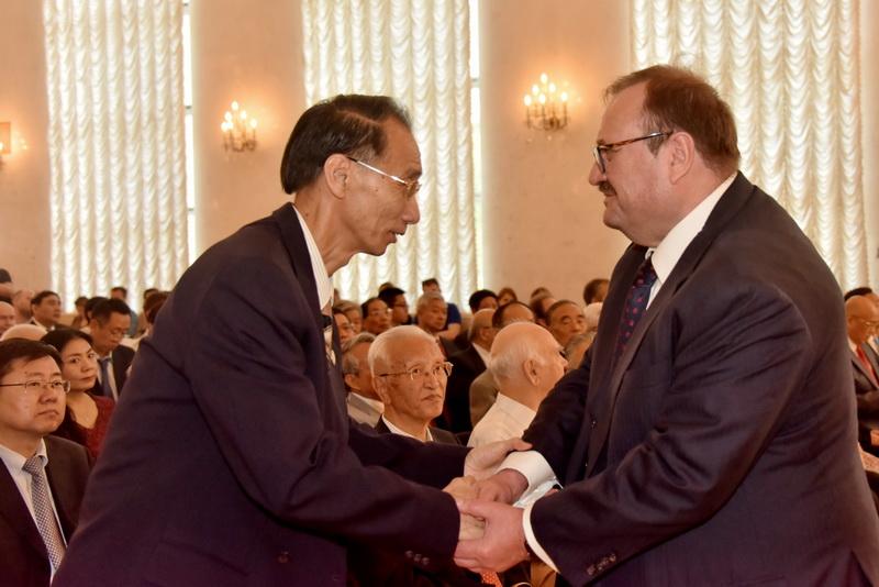 周晓沛:继续做中俄人民友谊的传播者