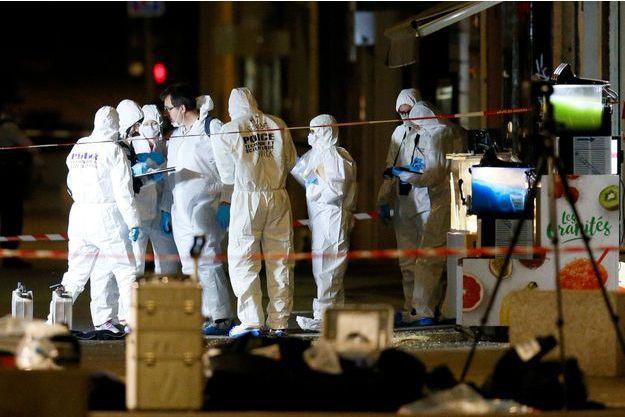 里昂爆炸案新进展:警方搜捕嫌犯 现场提取DNA