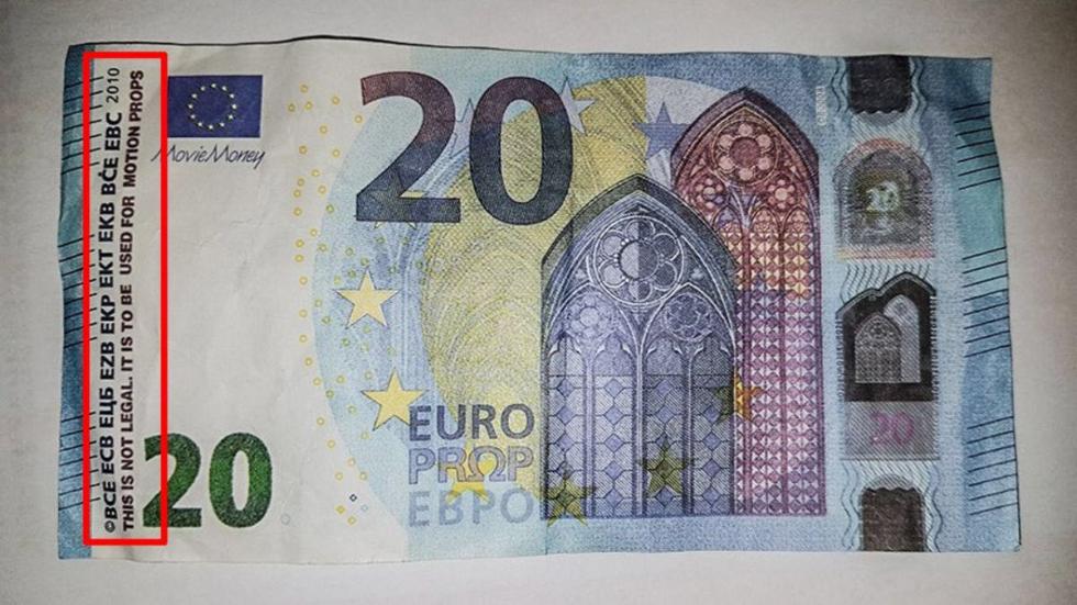 法国市场上20欧元假钞横行 多地已出现(图)