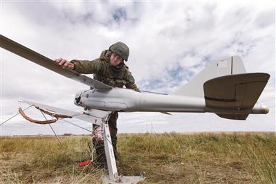 俄军无人机大踏步向前发展