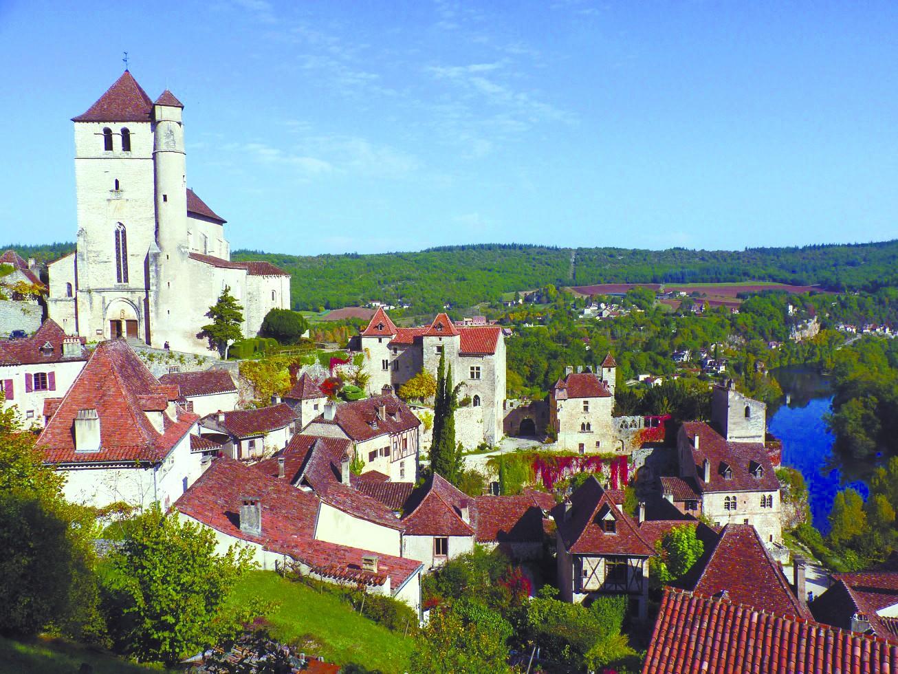 拉纤路上感受法国最美小镇