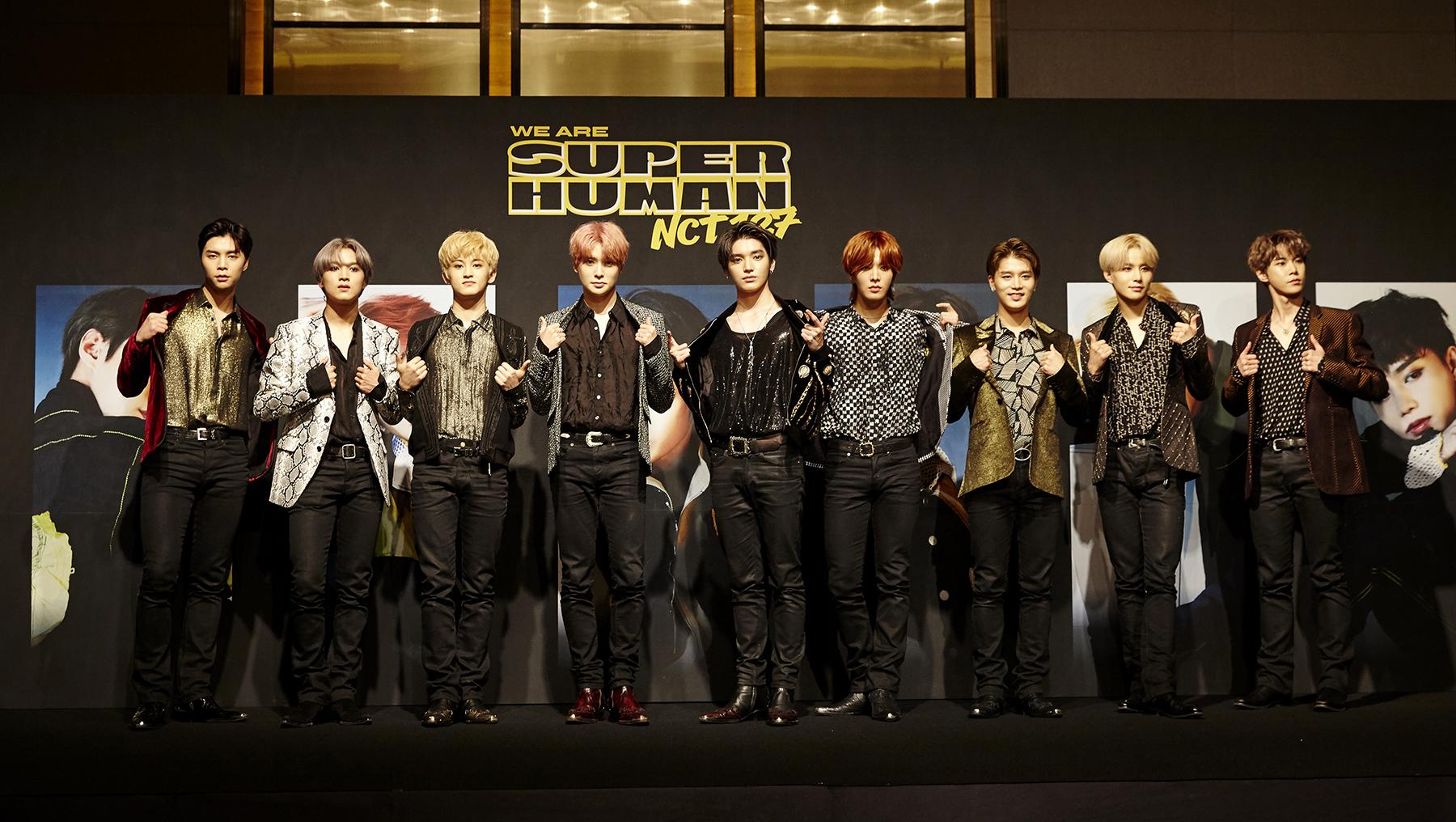 SM特级组合NCT 127《Superhuman》荣登iTunes全世界25区1位