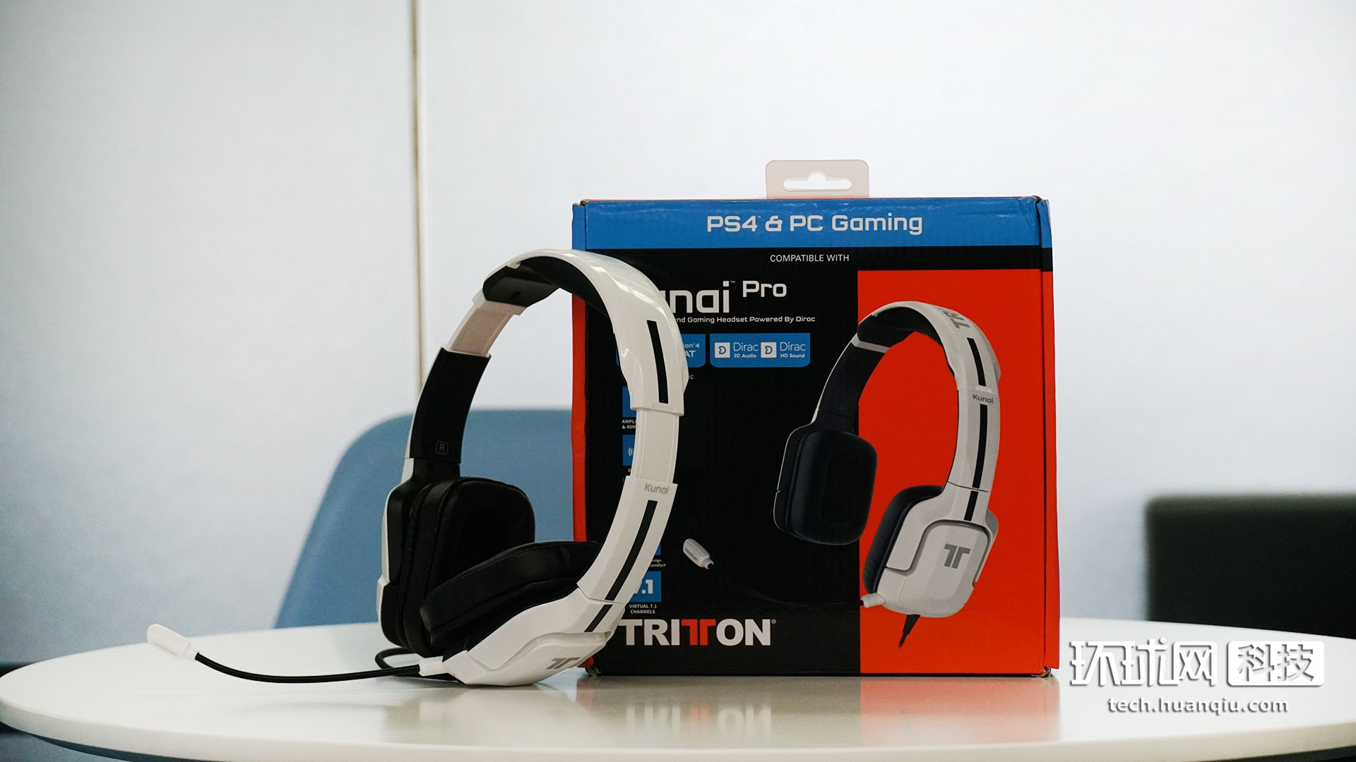 电竞风兼顾性价比 TRITTON Kunai pro Dirac 7.1游戏耳机体验