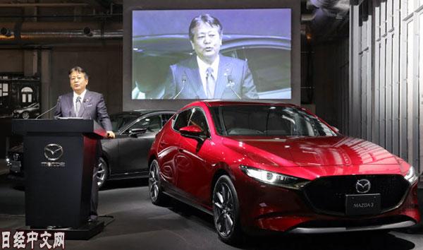 马自达将在全球统一车名:AXELA将更名为MAZDA 3