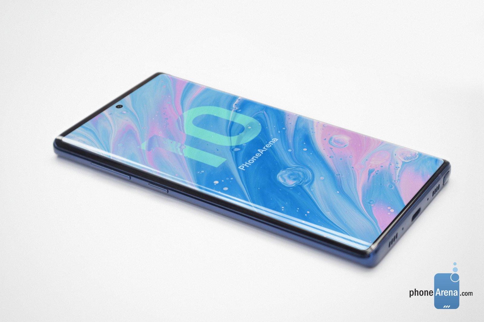三星Galaxy Note 10概念圖曝光 有望實現50W快充