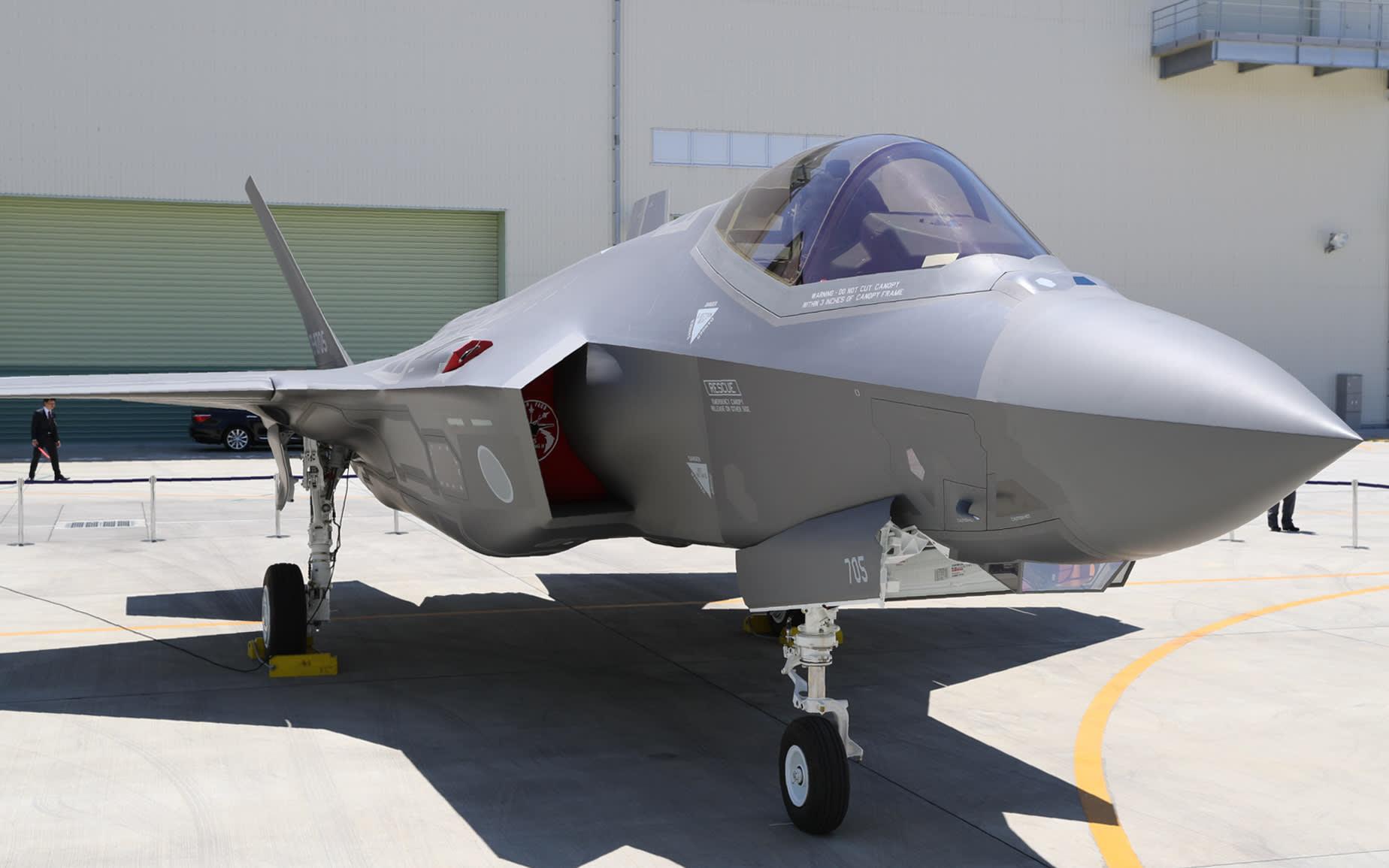特朗普:日本将购105架F-35 打造盟友中最大机群
