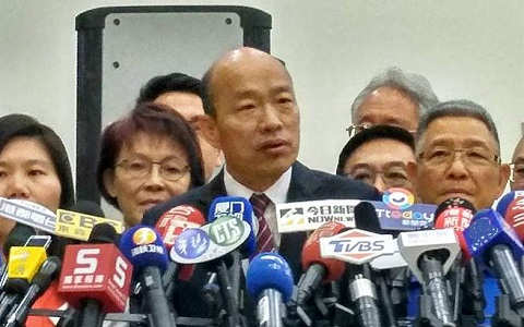 抹黑事件连环爆 高雄市长韩国瑜动怒了