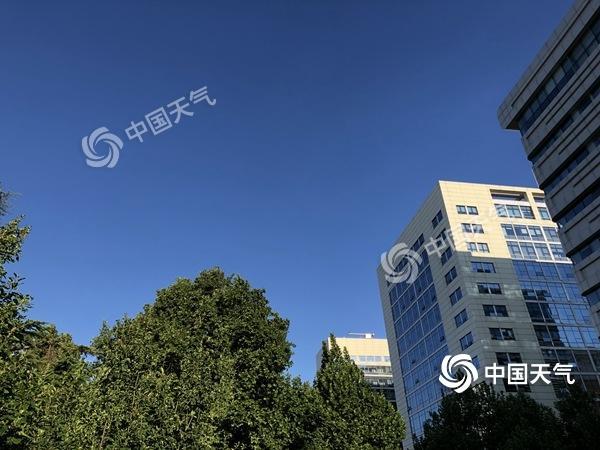 北京晴天回归气温升 今日仍有7级左右大风