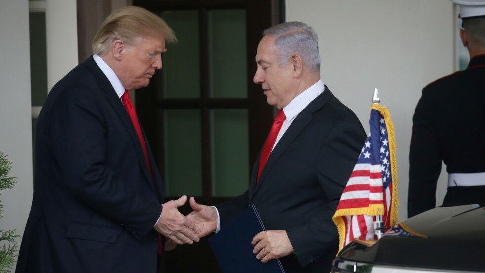 特朗普力挺好友内塔尼亚胡,被批评干涉以色列内政