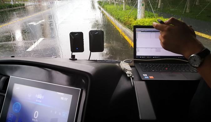 全球首批智能公交在中新天津生态城试运行