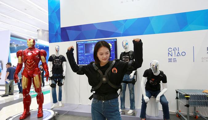 快递飞艇、无人直升机等物流黑科技亮相杭州