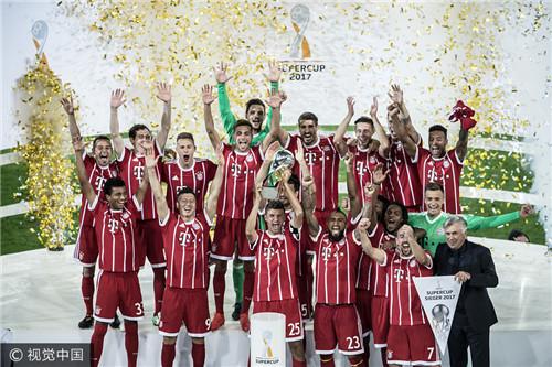 德国超级杯日期确定 多特和拜仁第七次对决