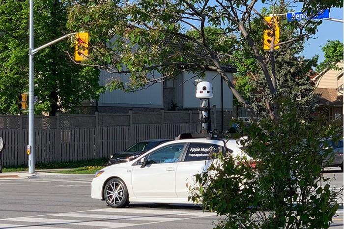 苹果地图车辆开始测绘加拿大