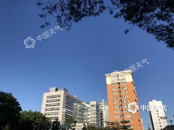 今明两天北京气温以晴晒为主 出行注意补水防晒